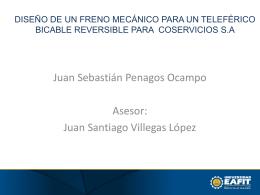 DISEÑO DE UN FRENO MECÁNICO PARA UN TELEFÉRICO
