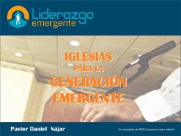 Iglesias para la generación Emergente