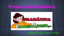Proyecto de Gramática