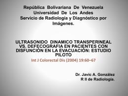 República Bolivariana De Venezuela Universidad De Los Andes