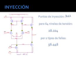 Inyección de fallas en estructuras analógicas CMOS