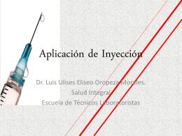 Aplicación de Inyección