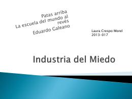 Industria del Miedo