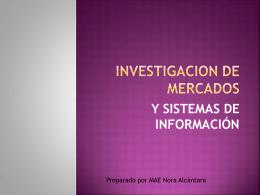 investigacion de mercados 2
