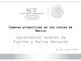 Cadenas Productivas en Costas STC
