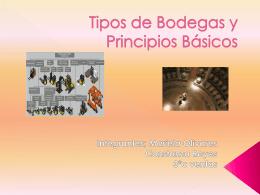 Tipos de Bodegas y Principios Básicos