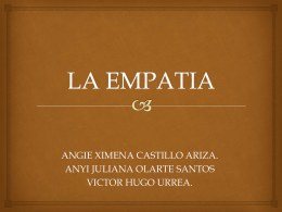 LA EMPATIA - WordPress.com