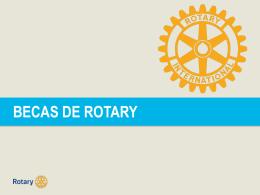 Becas de Rotary