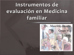Instrumentos de MF