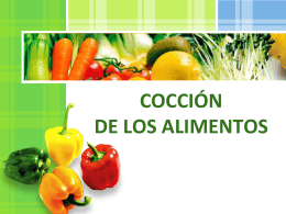 5. Métodos de conservacion de los alimentos