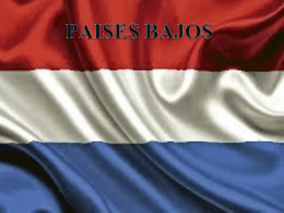 PAISES BAJOS - 56primariainfantes