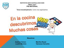 Presentación de PowerPoint - Instituto Educacional Juan XXIII