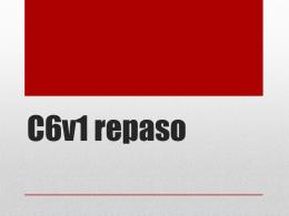 C6v1 repaso