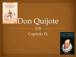 don quijote capitulo ix