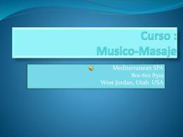 Curso : Musico-Masaje