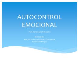 AUTOCONTROL EMOCIONAL