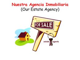 Nuestra Agencia Inmobiliaria