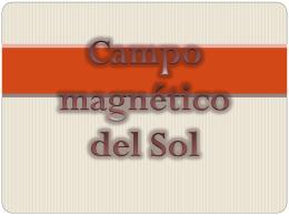Campo magnético del Sol