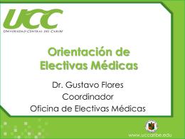 Orientación de Electivas Médicas