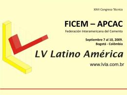 Slide 1 - Federación Interamericana del Cemento