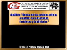 Dr. Ing. di Prátula, Horacio Raúl 1.- Introducción: Recursos, su
