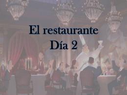 El restaurante Día 2 - Stjohns