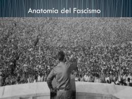 Clase 14: Los fascismos - Colegio SS.CC. Manquehue