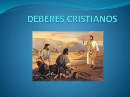 DEBERES CRISTIANOS