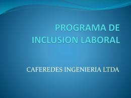 programa de inclusion laboral