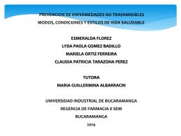 diapositivas para la wiki - Malaria-2014-2-B5