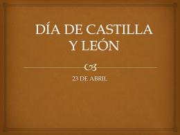 """DÍA DE CASTILLA Y LEÓN - cepa """"conde de aranda"""""""