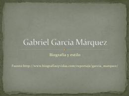 Gabriel García Márquez - lengua