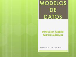 Institución Gabriel García Márquez