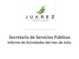 Julio 2013 - Juárez, NL