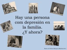 Hay una persona com depresión en la familia. ¿Y ahora?