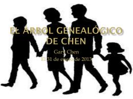 El Árbol Genealógico de Chen