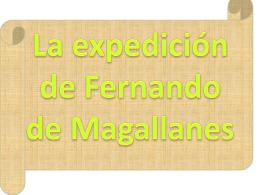 La expedición de Fernando de Magallanes