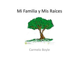 Mi Familia y Mis Raíces - Fairfield Public Schools