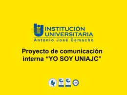 Anexo Proyecto Yo soy UNIAJC