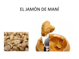 EL JAMÓN DE MANÍ