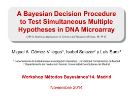 A Bayesion decision procedure to test simultaneous multyple