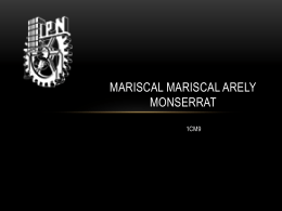 MARISCAL MARISCAL ARELY MONSERRAT