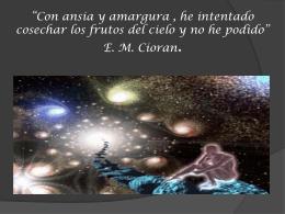 El fenómeno místico en la poesía.