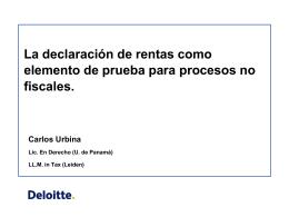 Posibles efectos de los nuevos formularios de renta y sus anexos en