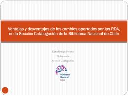 Tertulias Bibliotecarias RDA implementación y tendencias_Katia