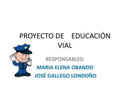proyecto vial primaria