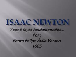 Isaac Newton - decimofisica