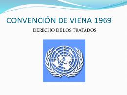 CONVENCIÓN DE VIENA 1969
