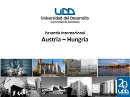 Antecedentes Pasantía Internacional Austria