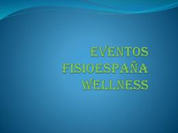 Eventos fisioespaña wellness - Centros Salud y Ejercicio